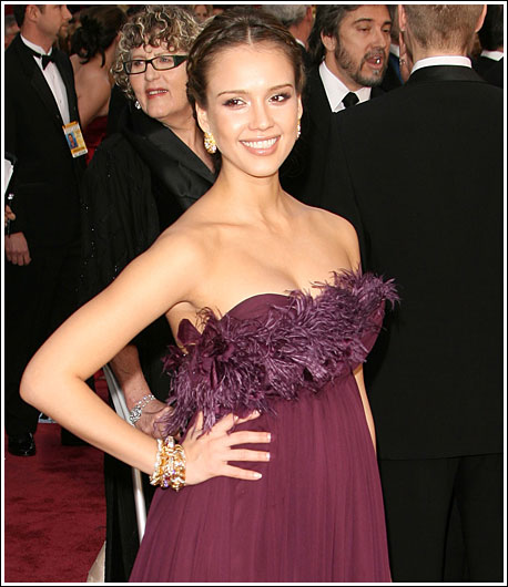 Jessica Alba at the Oscars